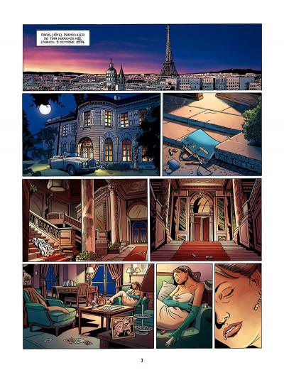 Page 4 une tragédie grecque tome 1 - deux soeurs