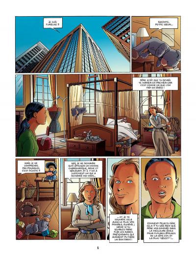 Page 7 une tragédie grecque tome 1 - deux soeurs