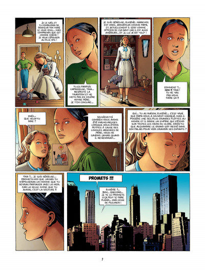 Page 8 une tragédie grecque tome 1 - deux soeurs