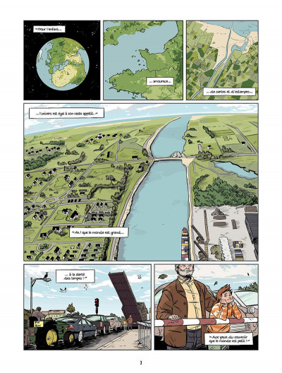 Page 2 les âmes nomades tome 1 - canal