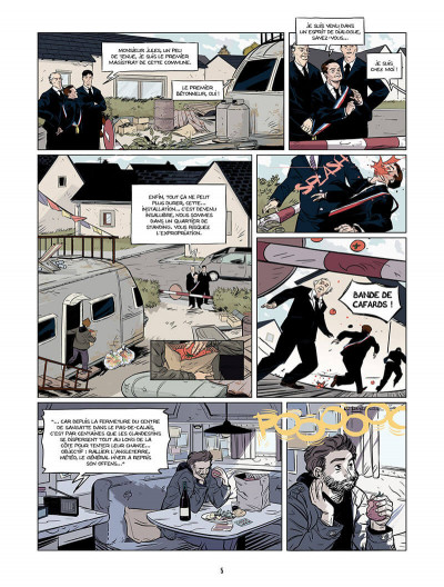 Page 4 les âmes nomades tome 1 - canal