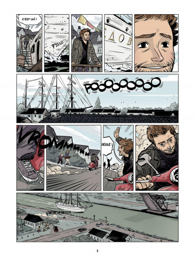Page 5 les âmes nomades tome 1 - canal