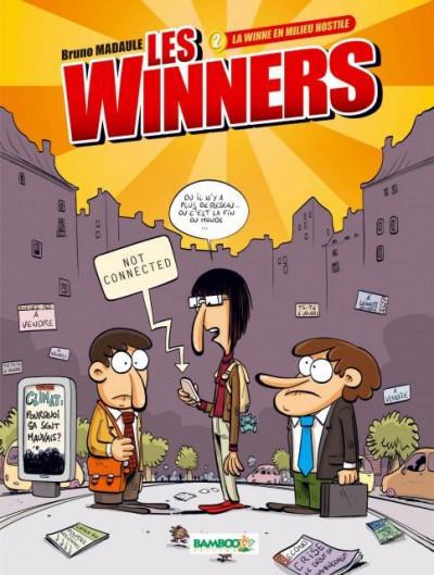 image de les winners tome 2 - la winne en milieu hostile
