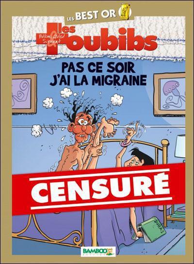 Couverture les toubibs tome 1 - pas ce soir, j'ai la migraine !