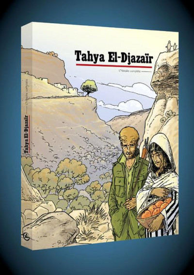 Couverture Tahya El-Djazaïr - écrin tome 1 et tome 2