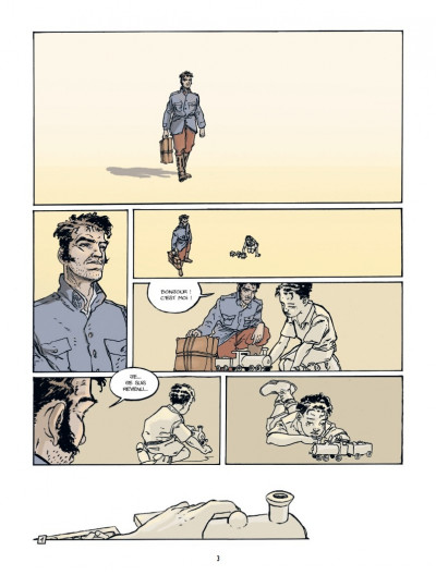 Page 1 pour un peu de bonheur T.1 - Félix