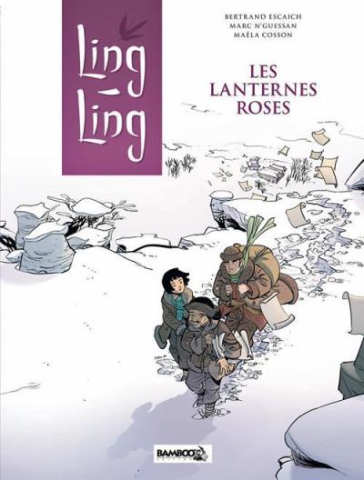 Couverture Ling Ling tome 2 - les lanternes roses