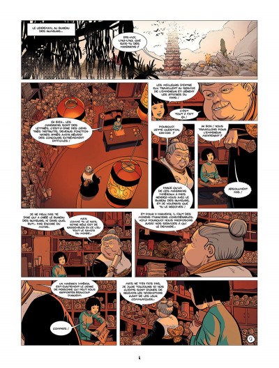 Page 5 Ling Ling tome 2 - les lanternes roses