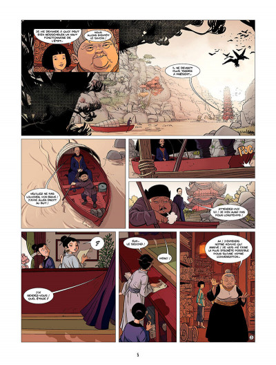 Page 6 Ling Ling tome 2 - les lanternes roses
