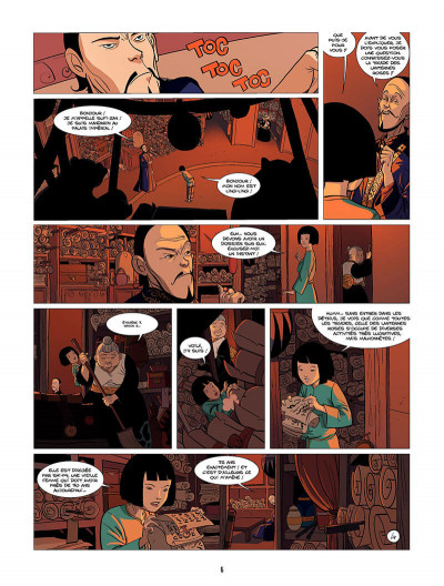Page 7 Ling Ling tome 2 - les lanternes roses