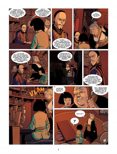 Page 8 Ling Ling tome 2 - les lanternes roses