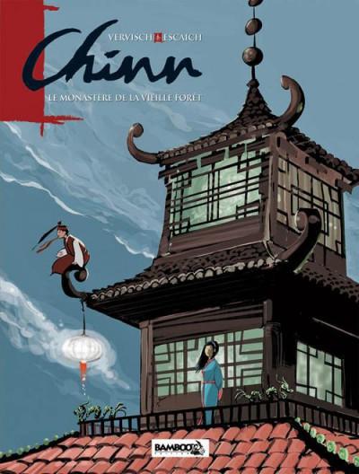 Couverture Chinn tome 2 - le monastere de la vieille forêt