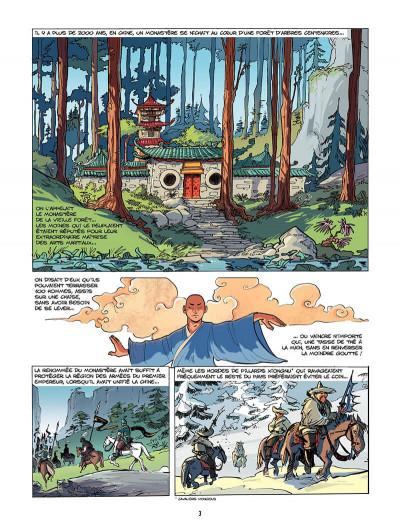 Page 4 Chinn tome 2 - le monastere de la vieille forêt