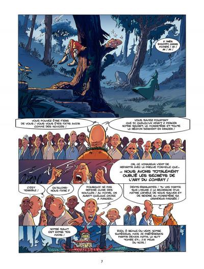 Page 8 Chinn tome 2 - le monastere de la vieille forêt