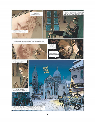 Page 5 l'ambulance 13 T.2 - au nom des hommes