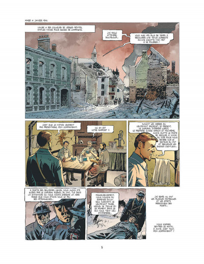 Page 6 l'ambulance 13 T.2 - au nom des hommes