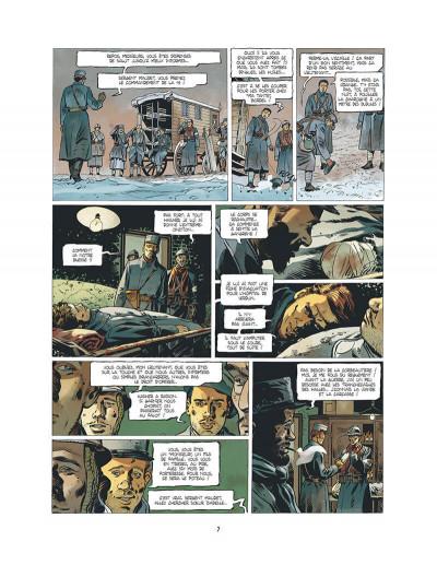 Page 8 l'ambulance 13 T.2 - au nom des hommes