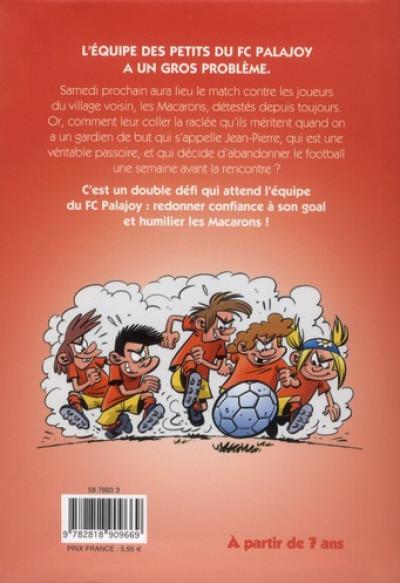 Dos Les petits footmaniacs - roman poche tome 1
