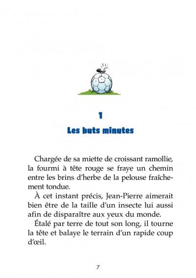 Page 1 Les petits footmaniacs - roman poche tome 1