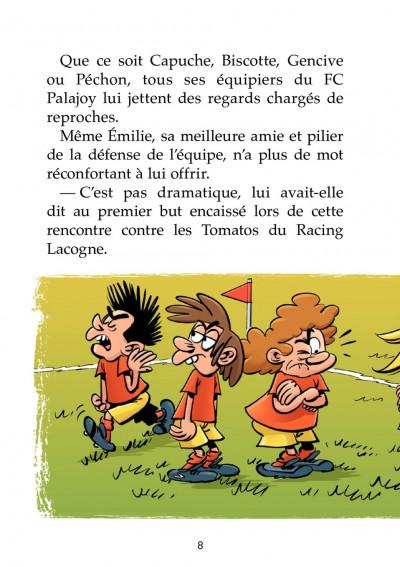 Page 2 Les petits footmaniacs - roman poche tome 1