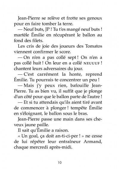 Page 4 Les petits footmaniacs - roman poche tome 1