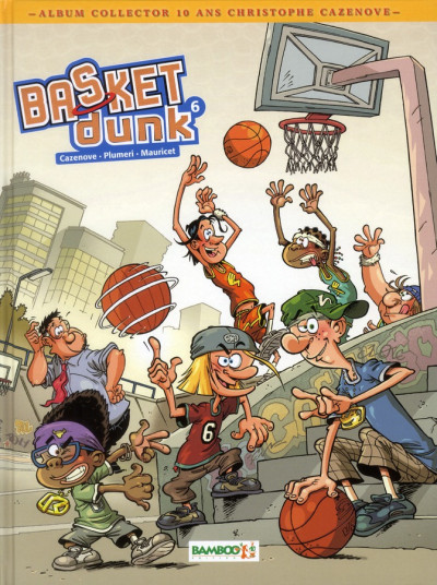 Couverture Basket dunk tome 6