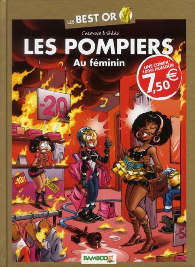 image de best or les pompiers tome 3 - au féminin
