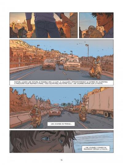 Page 0 Une nuit à Rome tome 1