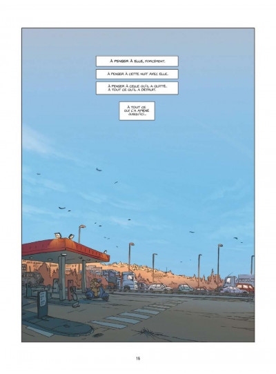 Page 1 Une nuit à Rome tome 1