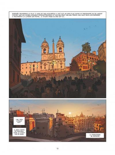 Page 8 Une nuit à Rome tome 1