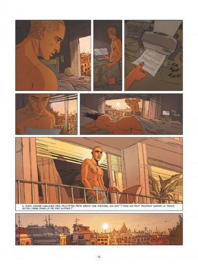 Page 9 Une nuit à Rome tome 1
