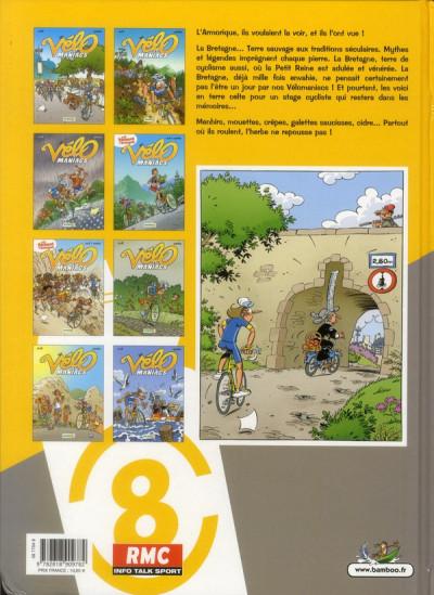 Dos les Vélo Maniacs T.8