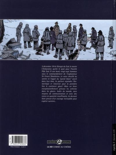 Dos Sur les bords du monde tome 1 - L'Odyssée de Sir Ernest Shackleton