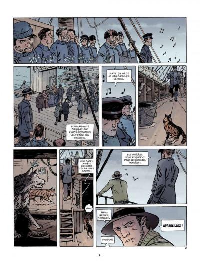 Page 2 Sur les bords du monde tome 1 - L'Odyssée de Sir Ernest Shackleton