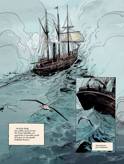 Page 4 Sur les bords du monde tome 1 - L'Odyssée de Sir Ernest Shackleton