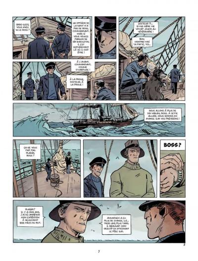 Page 5 Sur les bords du monde tome 1 - L'Odyssée de Sir Ernest Shackleton
