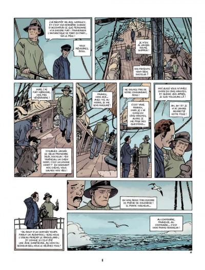 Page 6 Sur les bords du monde tome 1 - L'Odyssée de Sir Ernest Shackleton