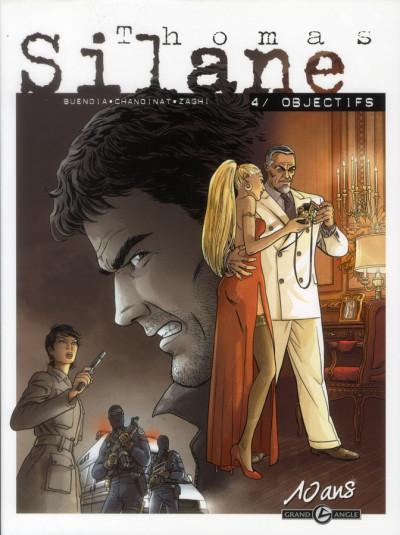 Couverture Thomas Silane tome 4 - édition 10 Ans Grand Angle