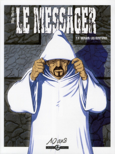 Couverture le messager tome 4 - Edition 10 Ans Grand Angle