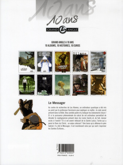 Dos le messager tome 4 - Edition 10 Ans Grand Angle