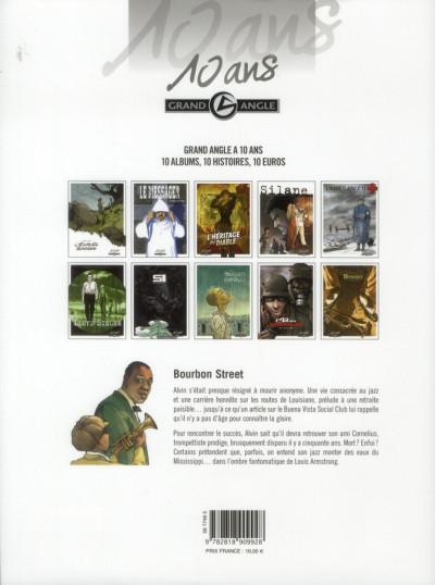 Dos Bourbon street tome 1 - les fantômes de Cornélius - édition 10 ans grand angle