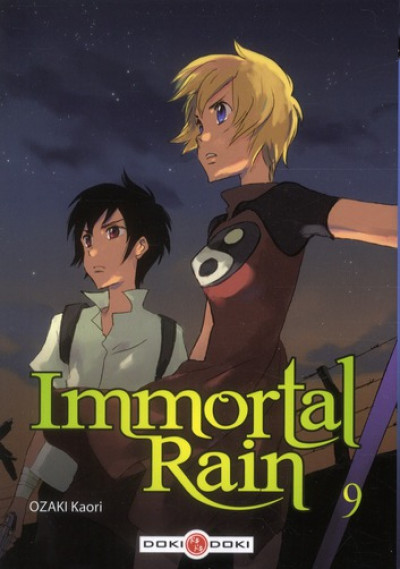 image de immortal rain tome 9