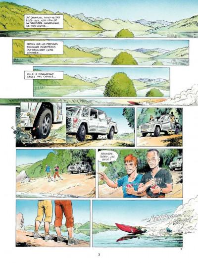 Page 3 Le Dernier des Mohegans ; intégrale