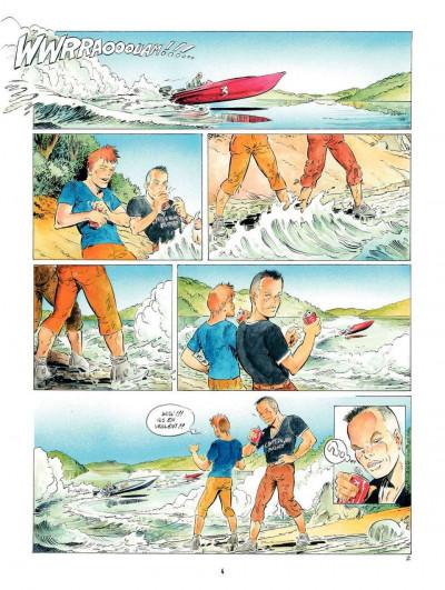 Page 4 Le Dernier des Mohegans ; intégrale