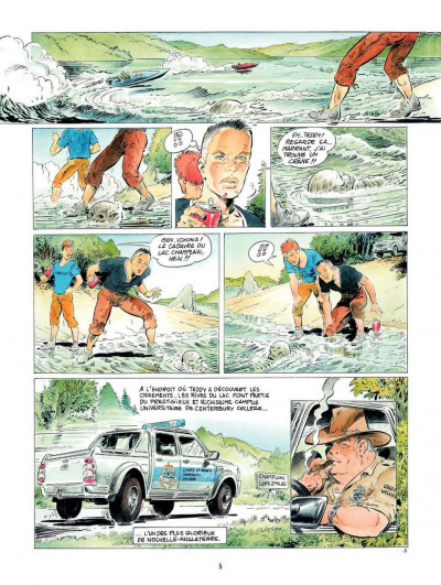 Page 5 Le Dernier des Mohegans ; intégrale