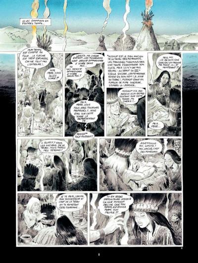 Page 8 Le Dernier des Mohegans ; intégrale