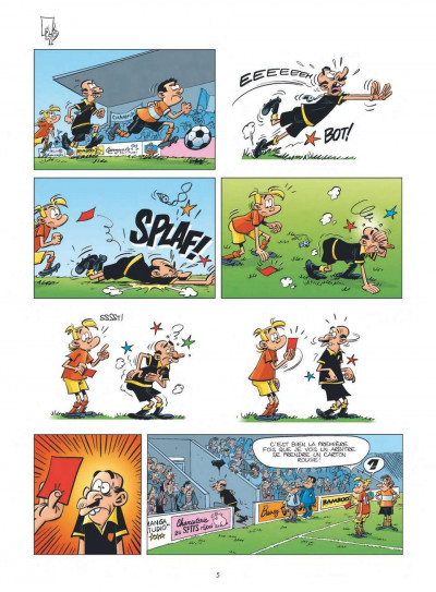 Page 3 les Foot Maniacs T.10