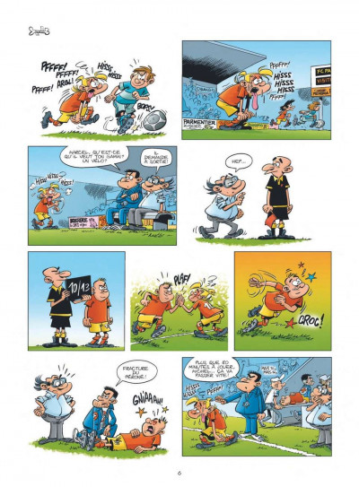 Page 4 les Foot Maniacs T.10