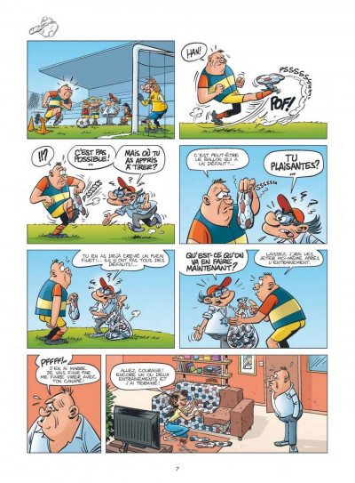 Page 5 les Foot Maniacs T.10