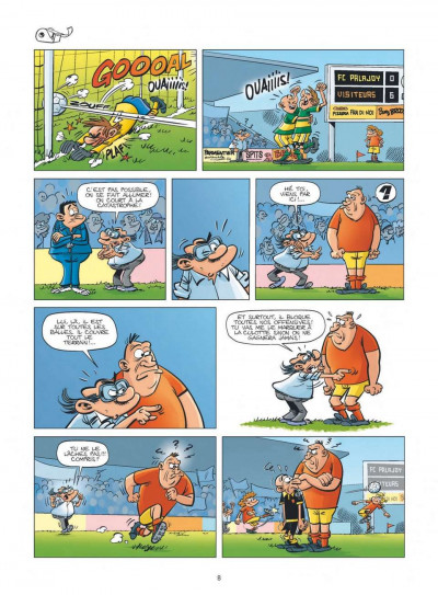 Page 6 les Foot Maniacs T.10